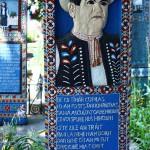 Cimitirul Vesel de la Săpânța, necrologul lui Stan Ioan Pătraș