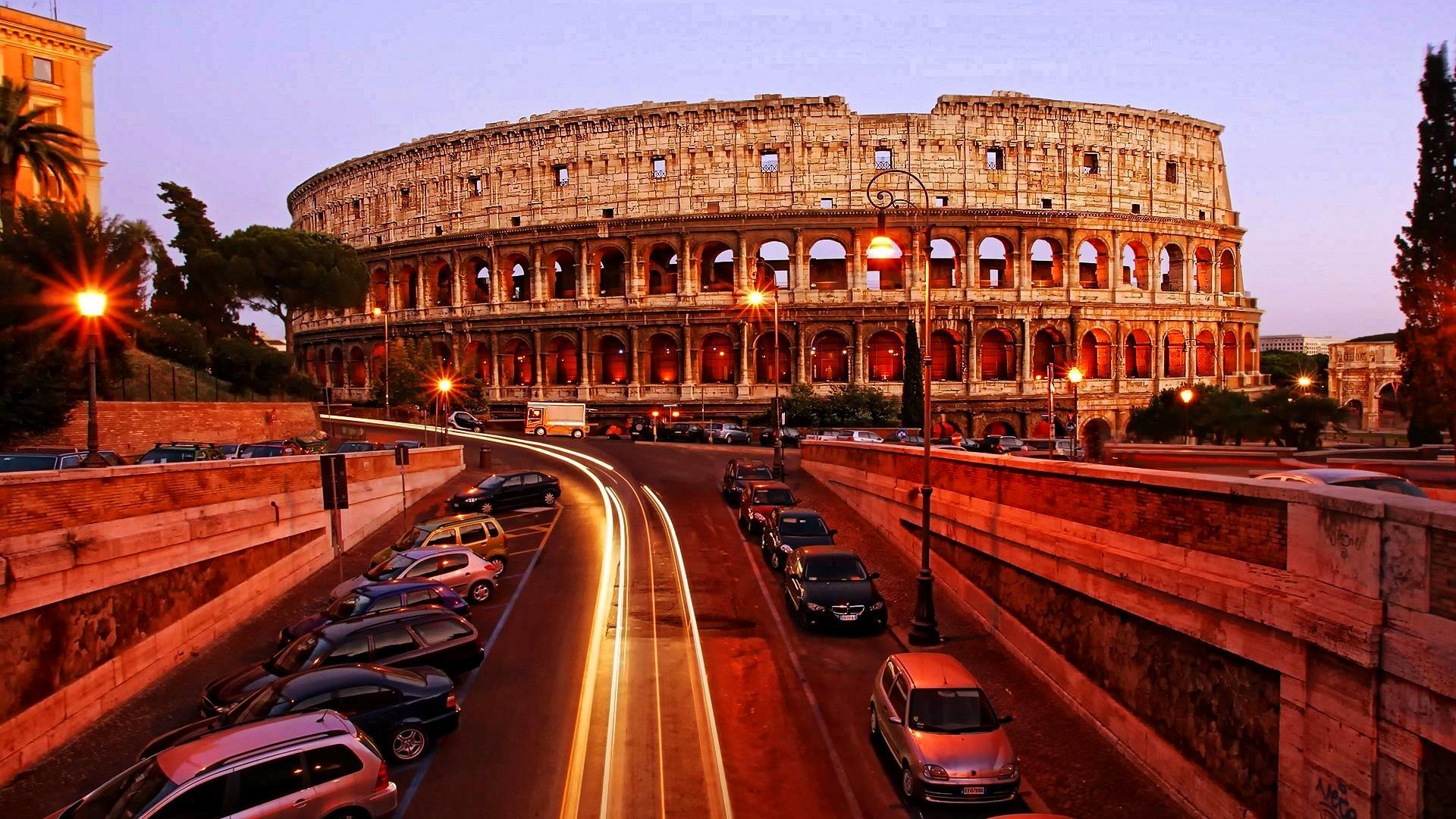 Colosseum la apus