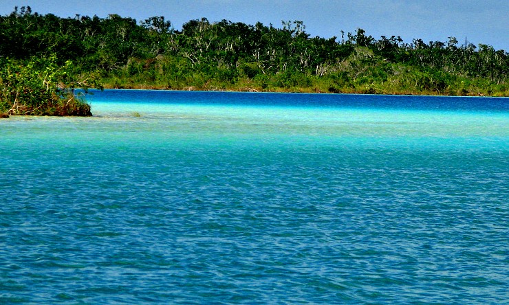 Laguna Bacalar - Mexic