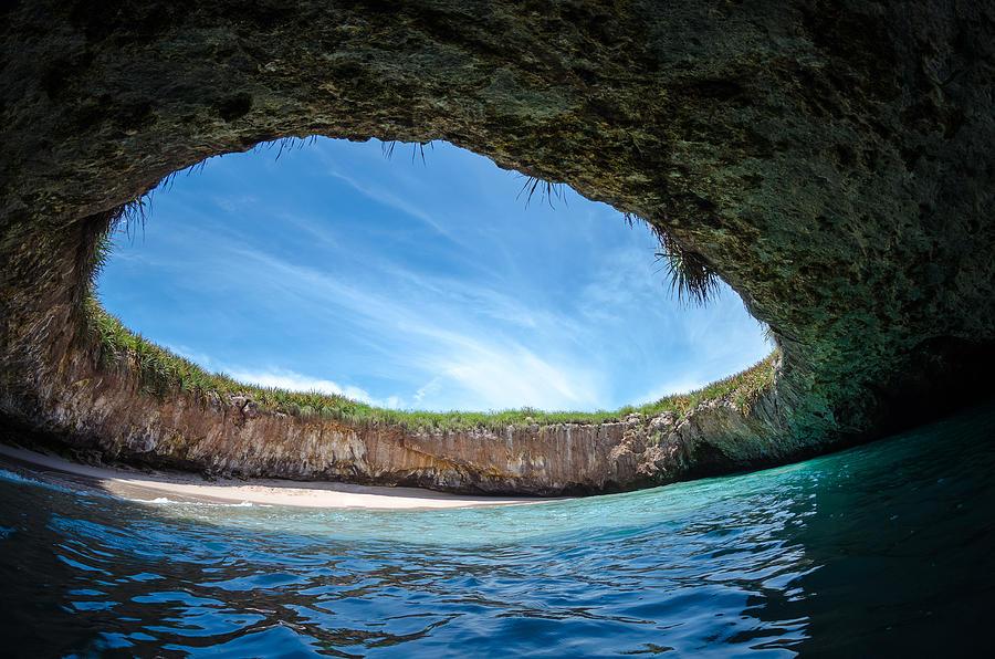 Plajă Ascunsă, Insulele Marieta, Mexic