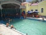 Bazin cu apă termală la Băile Herculane