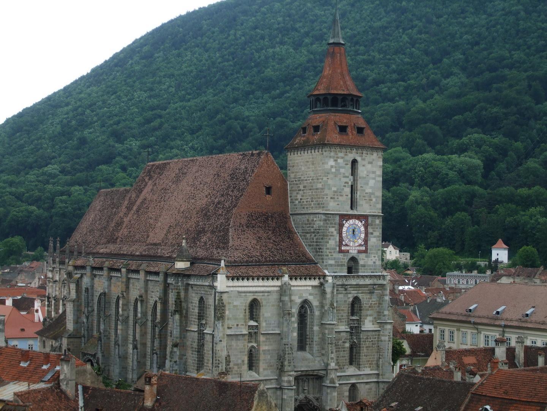 Biserica Neagră, vedere exterioară