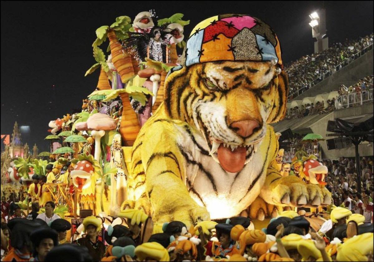 Tigrul nu se poartă fără șapcă