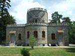 Castelul Juliei Hasdeu, vedere din spate