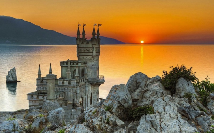 Castelul Cuibul Rândunicii, Ucraina