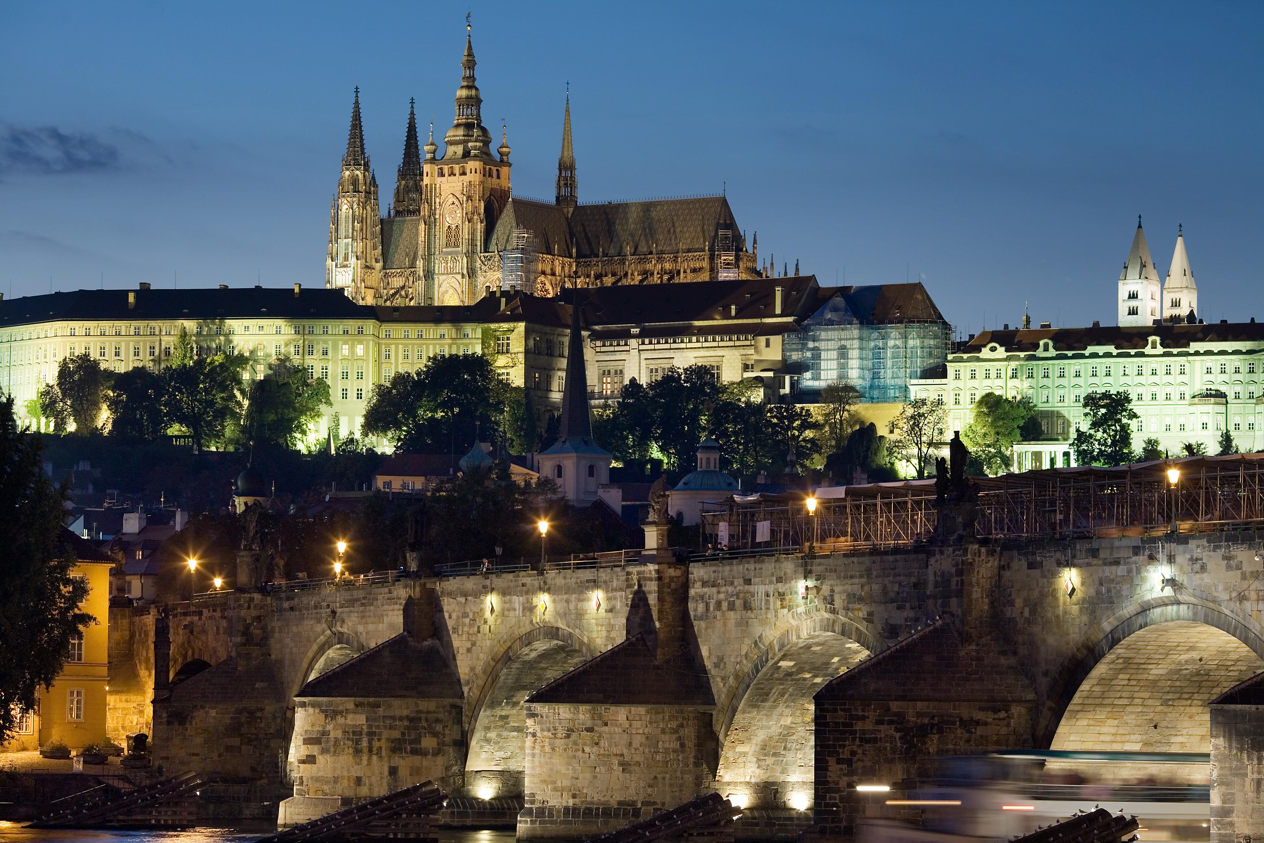 Castelul din Praga și Podul Carol