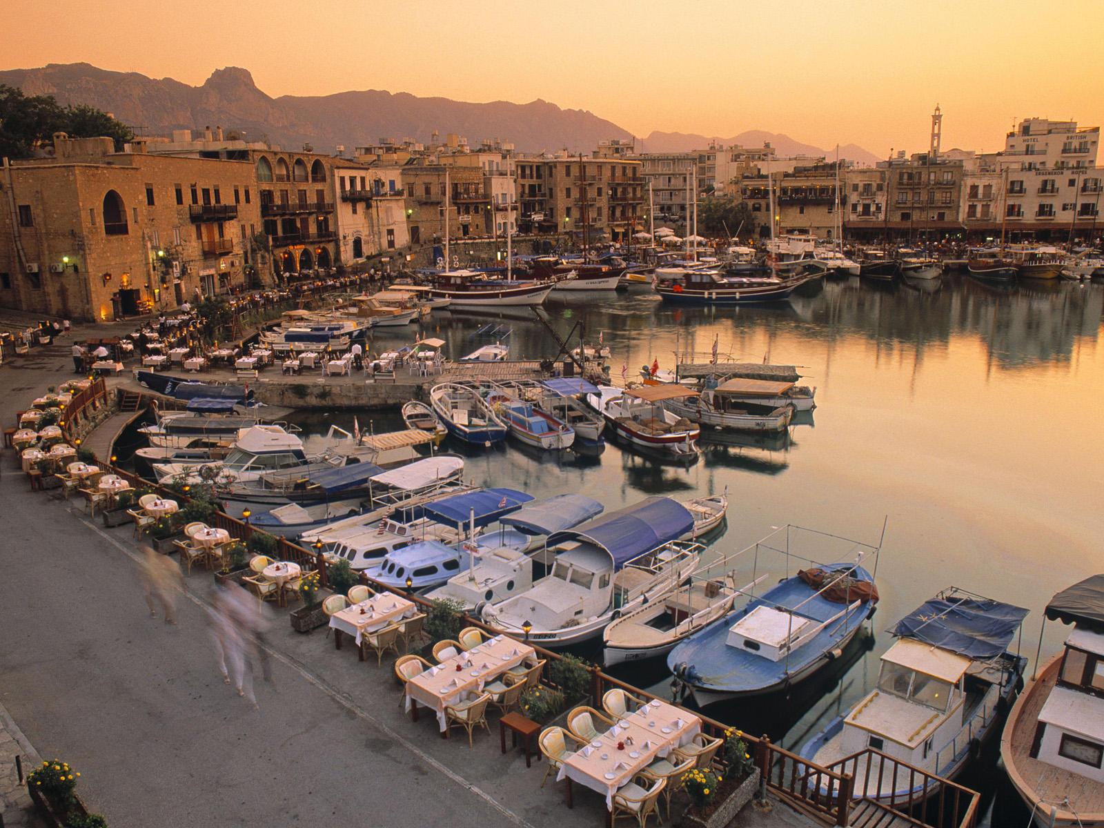 Cipru portul Kyrenia