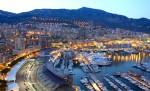Monaco, vedere din port