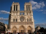 Notre Dame de Paris, fatada impunatoare