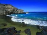 Plaja Papakolea, Hawaii