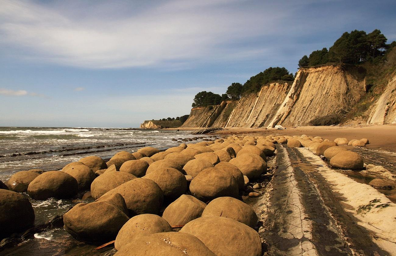 Plaja mingilor de bowling, California