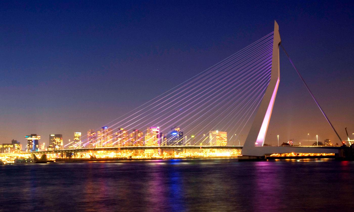 Rotterdam, podul Erasmus