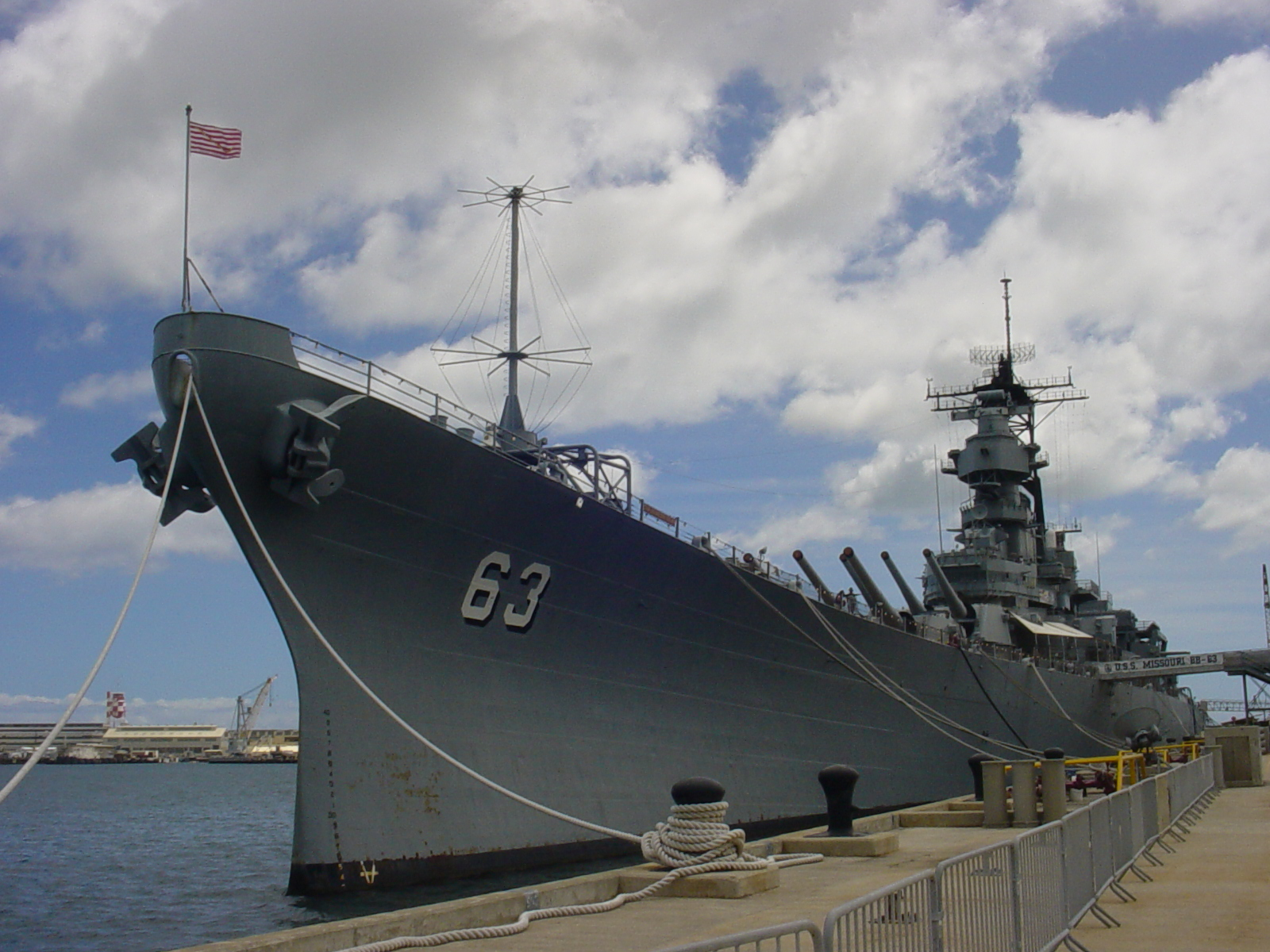 USS Missouri, ultima mare navă de luptă