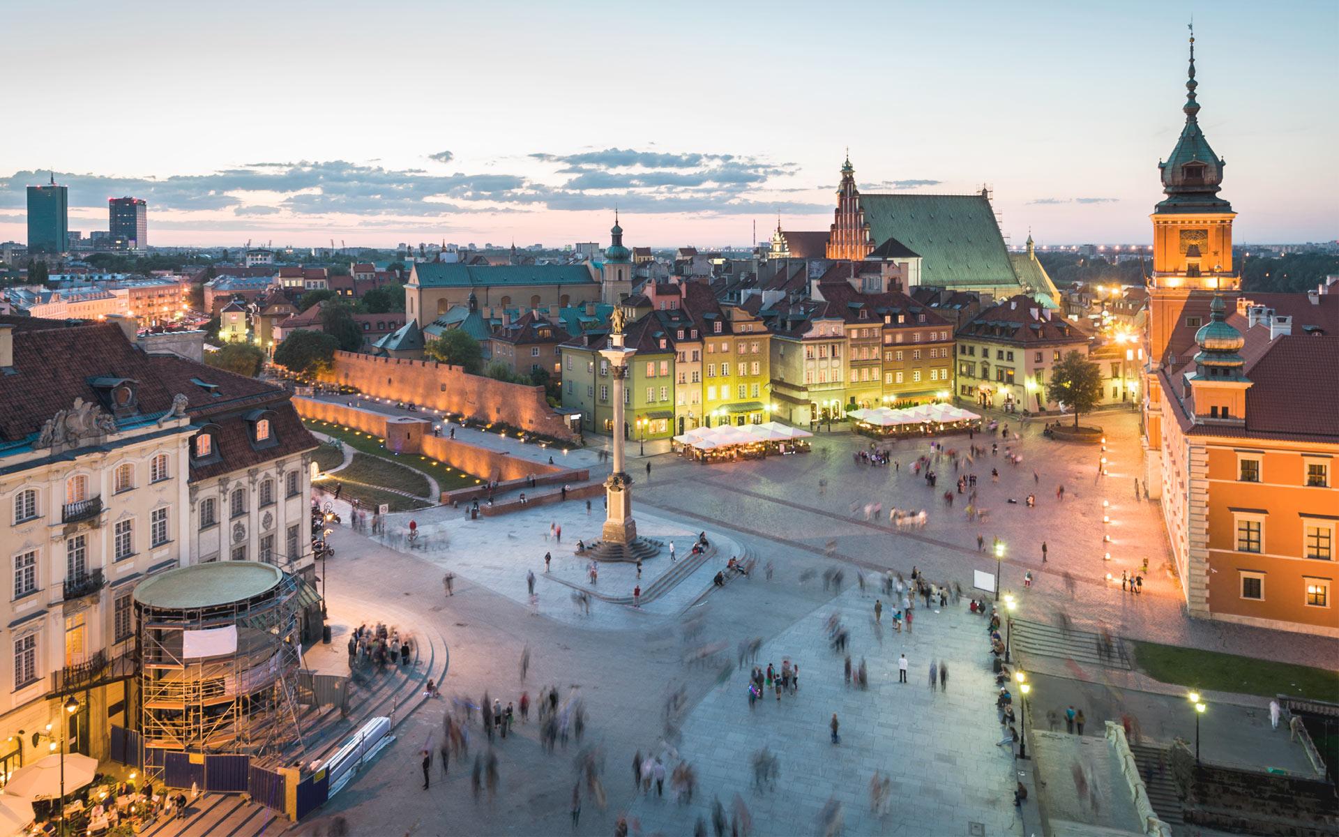 Varșovia în mișcare
