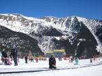 Peisaj montan din staţiunea Pal-Arinsal, Andorra