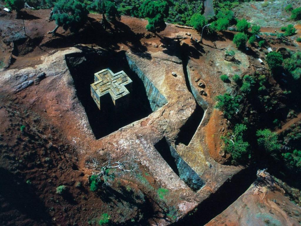 Biserica Saint George și zona înconjurătoare oferă o imagine uimitoare