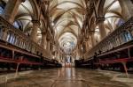 Interiorul Catedralei Cantebury
