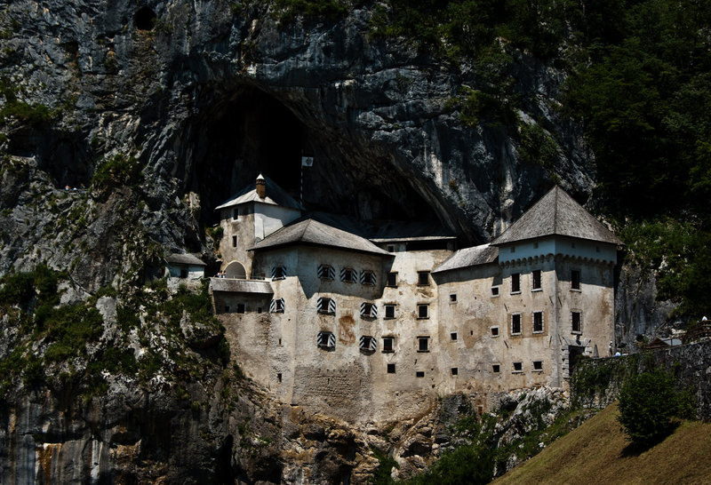 Castelul Predjama, Slovenia