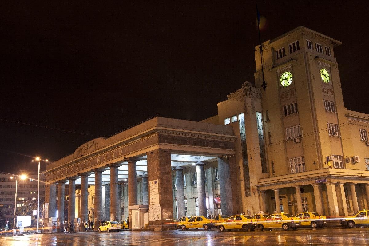 Gara de Nord noaptea