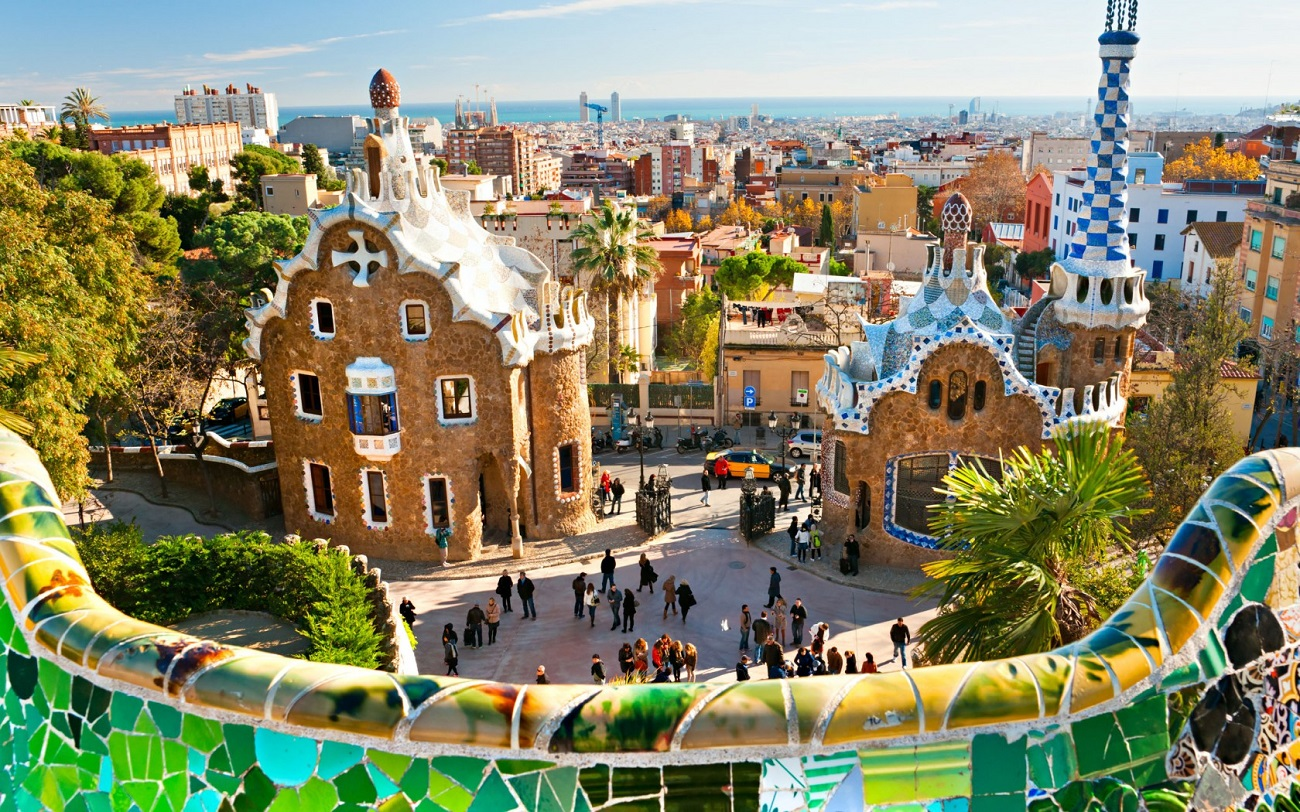 Parcul Guell, Barcelona