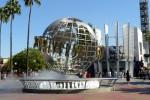 Intrarea în Universal Studios Hollywood, Los Angeles