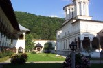Mânăstirea Horezu și pădurile de pe munții din jur