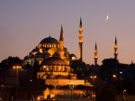 Moscheea Albastră, noaptea