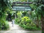 Crocodile farm din insula Palawan