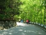 Plimbare în aer liber la Băile Olănești