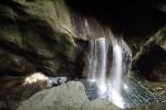 Râul Reka crează pe alocuri mici cascade spectaculoase