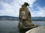 Roca Siwash, un simbol în Stanley Park