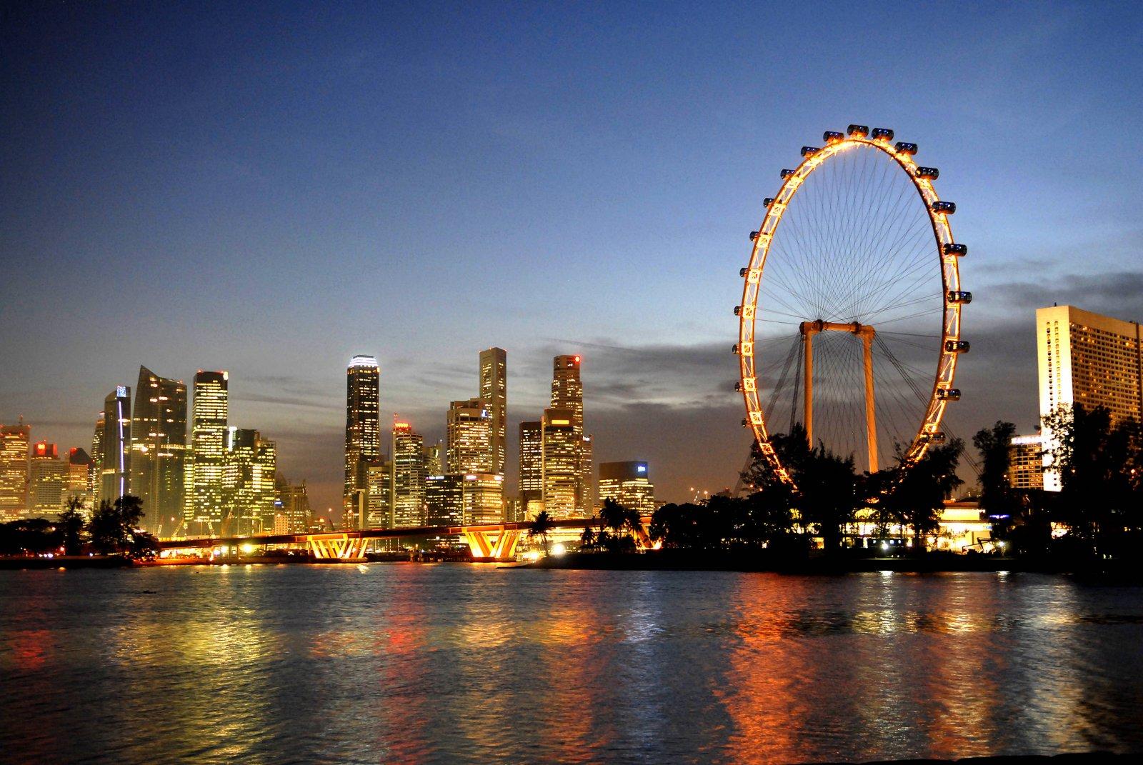 Singapore Flyer, roata care oferă priveliști uluitoare