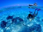 Snorkeling în apa puțin adâncă