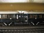 Vagoanele Orient Express în gara din Cracovia