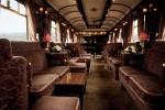 Vagonul de zi din trenul Venice Simplon Orient Express