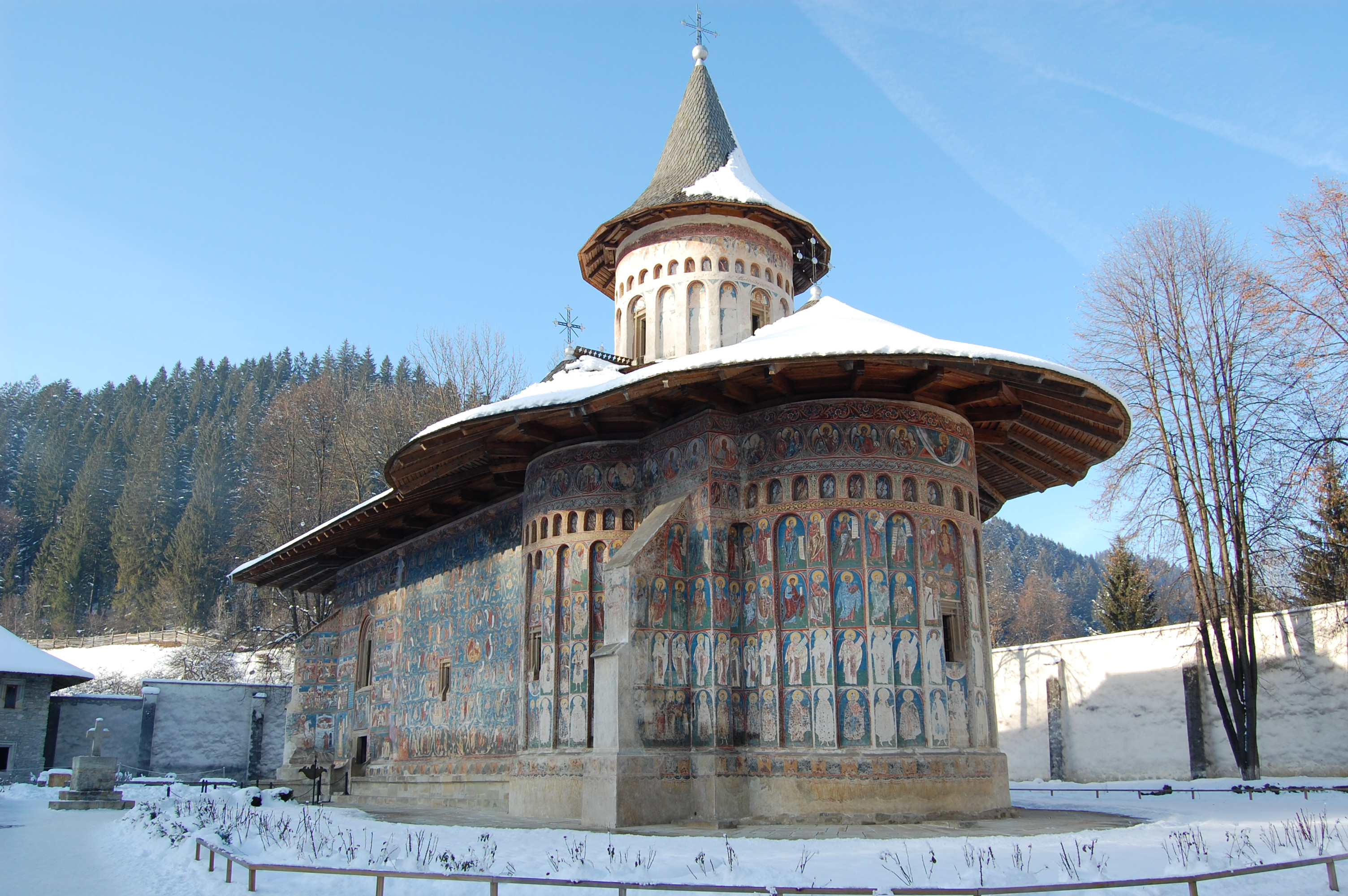 Voroneț, poate cea mai cunoscută dintre Mânăstirile din Nordul Moldovei