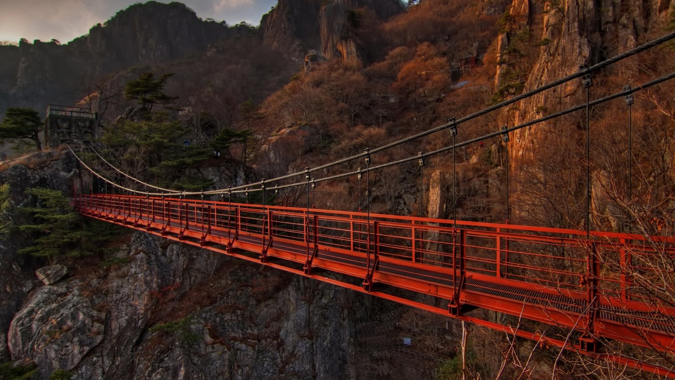 Monkey Bridge Vietnam
