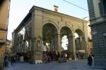 Mercato Nuovo cu a sa Fontana del Porcellino (Fântâna Porcului)