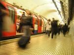 Aglomerație în metroul londonez