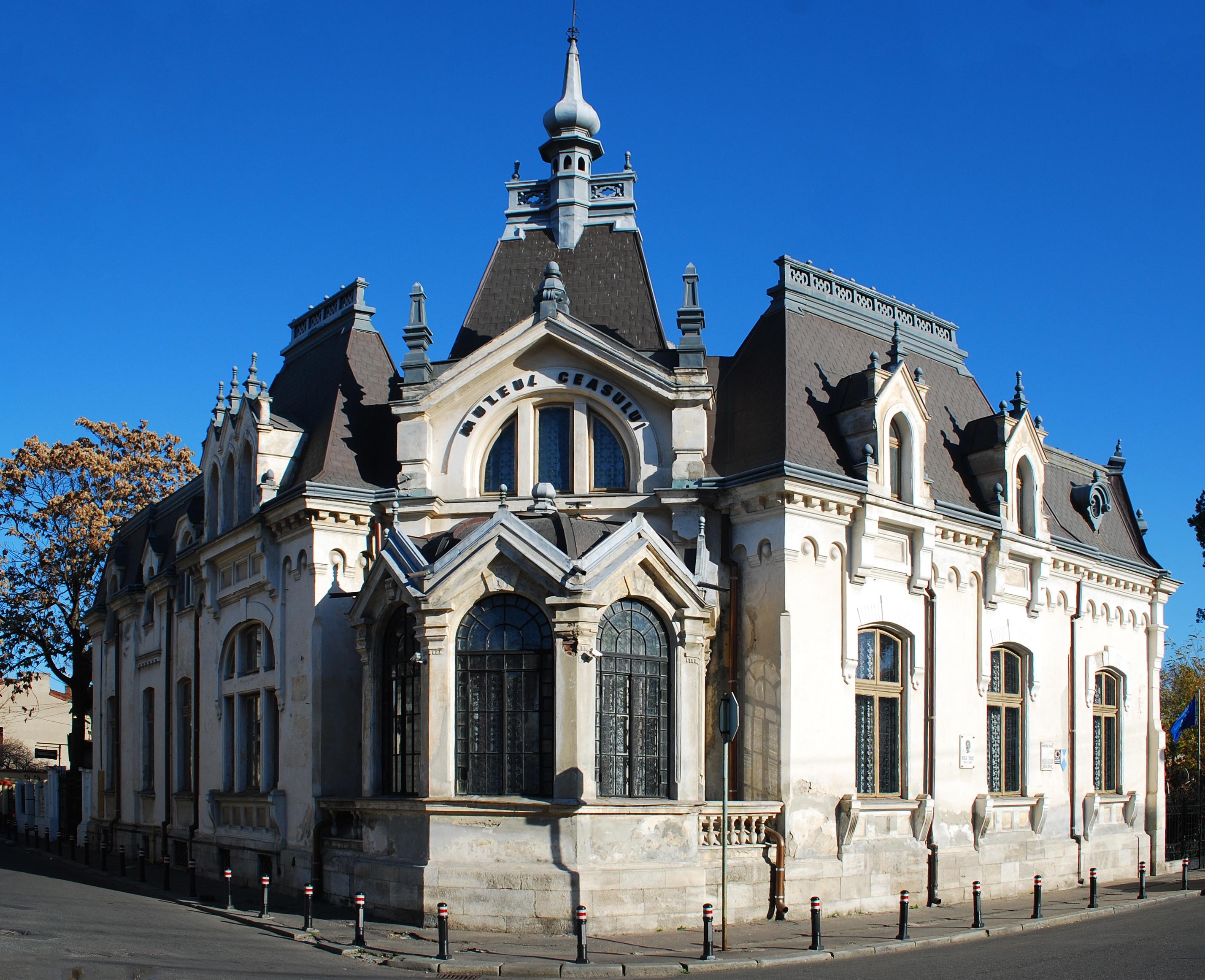 Casa ce găzduiește Muzeul Ceasului