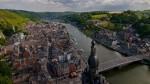 Cetatea Dinant oferă o panoramă uimitoare