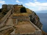 Cetatea din Mystras, o zonă de protecție a orașului medieval