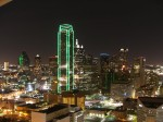 Dallas noaptea, o imagine feerică