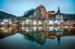 Dinant, un orășel de vis în Belgia