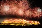 Festivalul din Carcassonne este marcat de un splendid spectacol de artificii