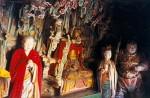 Sculpturi religioase din Templul Suspendat