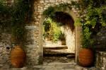Intrarea în Mănăstirea Pantanassa