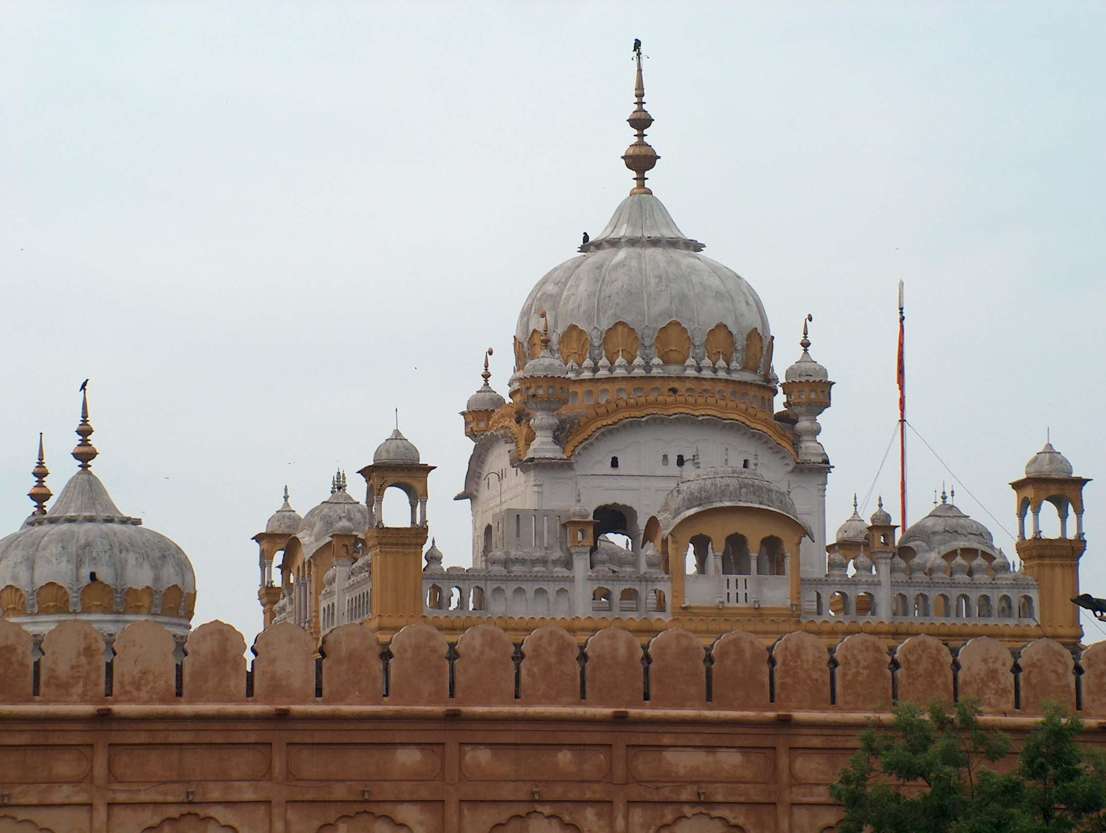 Aspect al fortului Lahore