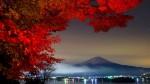Muntele Fuji, toamna