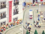 Fațada extrem de interesantă a Muzeului Jucăriilor din orașul Sintra